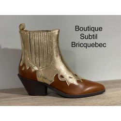 BOOTS or/marron